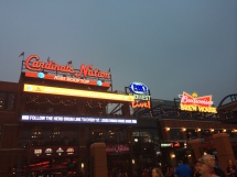 St. Louis Cardinals games and Ballpark Village